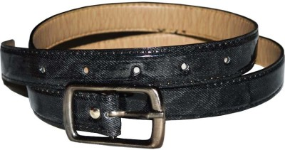 Kitnboodle Women Casual Black Artificial Leather Belt