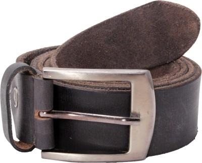 Ox Men Formal Grey Genuine Leather Belt