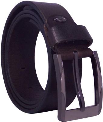 Ekora Men Casual, Formal Brown Genuine Leather Belt