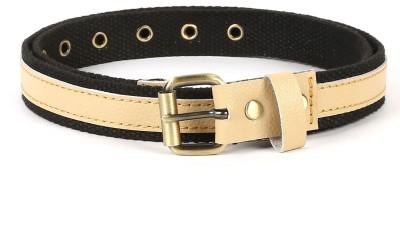 Bluth Women Casual Black Canvas Belt
