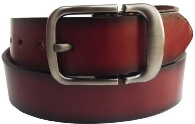 FRONEX INDIA Men Formal Brown Synthetic Belt