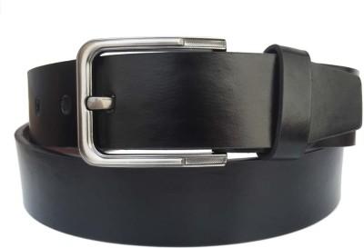 FRONEX INDIA Boys, Men Black Genuine Leather Belt