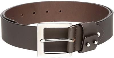Roadster Men Formal Brown Genuine Leather Belt