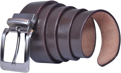 Saugat Traders Men, Boys Formal, Casual, Evening, Party Brown Genuine Leather Belt