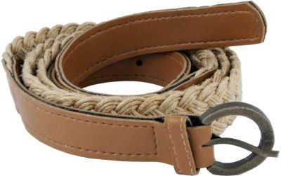 WOAP Girls Casual, Party Brown Artificial Leather Belt