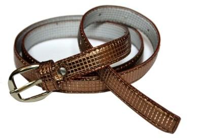 VICTORIA SECRET INDIA Girls Brown Artificial Leather Belt