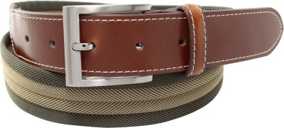 Orosilber Men Casual Green Belt