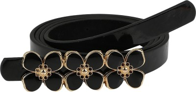 Aadi And Sons Women Casual Black Artificial Leather Belt