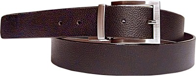 Manshkhino Men Formal Multicolor Genuine Leather Reversible Belt