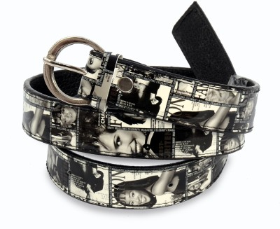 VICTORIA SECRET INDIA Women Casual, Party Black, White Artificial Leather Belt
