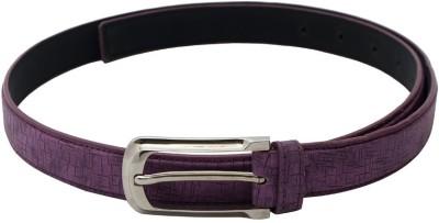 SkyWays Women Casual, Formal Purple Artificial Leather Belt