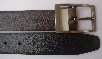 cotnis Men Multicolor Genuine Leather Reversible Belt