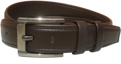 Sanshul Men Formal Brown Artificial Leather Belt