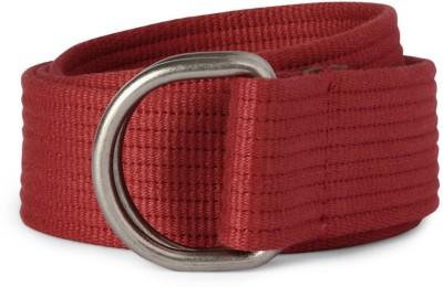 Allen Solly Men Red Artificial Leather Belt