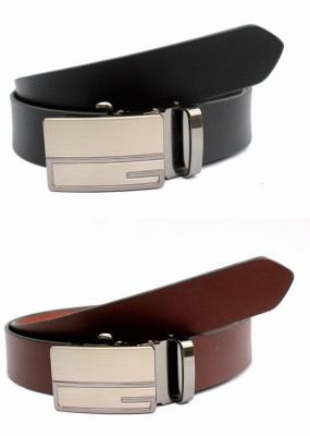 Ocean Enterprises Men, Boys Formal, Casual, Party Black, Brown, Maroon, Multicolor Genuine Leather Belt