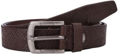 Aditi Wasan Men Brown Genuine Leather Belt