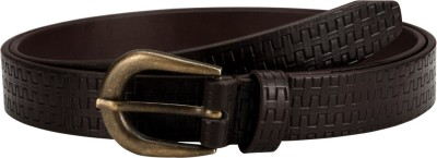 Orkee Women Casual Brown Artificial Leather Belt