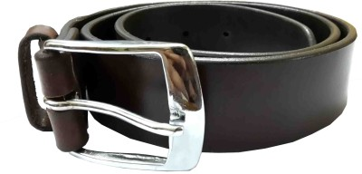 Sterling Germany Boys, Men, Women, Girls Casual, Evening, Party, Formal Brown Genuine Leather Belt