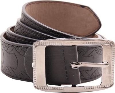 Shop & Shoppee Men Casual Black Synthetic Belt