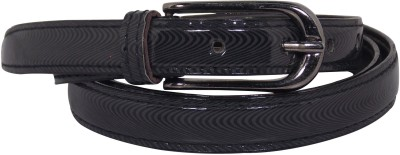 Ekora Girls Casual Black Artificial Leather Belt