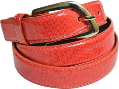 SkyWays Women Casual Maroon Artificial Leather Belt
