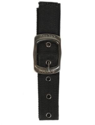 Bs Spy Women Casual Black Canvas Belt