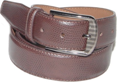 Ellis Men Formal Tan Genuine Leather Belt