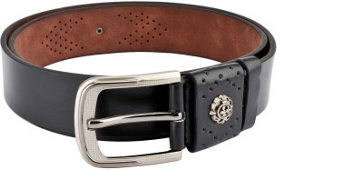 Swiss Design Boys, Men Black Genuine Leather Belt