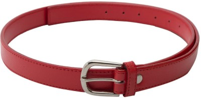 SkyWays Women Formal, Casual Red Artificial Leather Belt