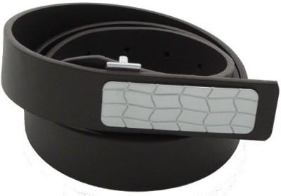 SFA Men Formal Brown Artificial Leather Belt