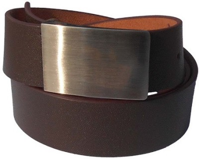Your Style Men Formal Brown Genuine Leather Belt