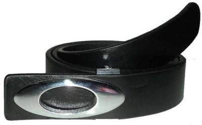 Mode Boys, Men Casual, Formal Black Genuine Leather Belt