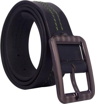 Ekora Men Casual, Formal Black Genuine Leather Belt