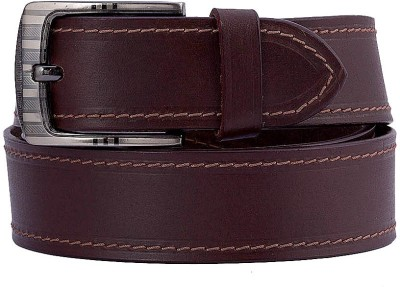 Coconut Men Formal Brown Genuine Leather Belt