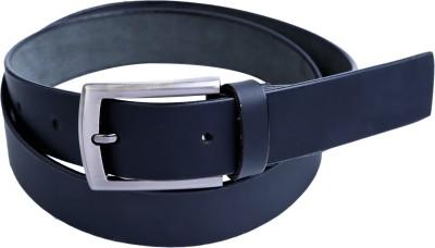 Contra Men Black Genuine Leather Belt