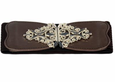 Victoria Secret Women Brown Fabric Belt
