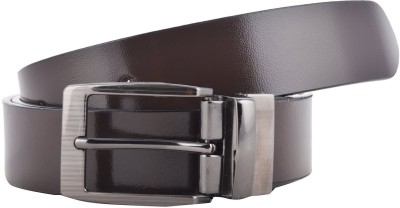Black Bull Men Formal Brown Genuine Leather Belt