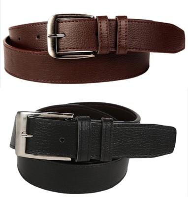 KRG ENTERPRISES Men, Boys Casual, Party, Formal, Evening Multicolor Genuine Leather Belt