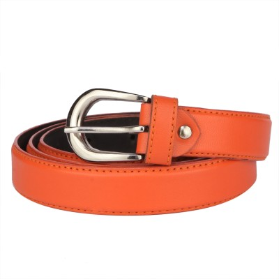 SkyWays Women Casual Orange Artificial Leather Belt