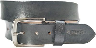 Hadwin Men Formal Black Genuine Leather Belt