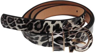 Grace Fashion Villa Girls Black Artificial Leather Belt