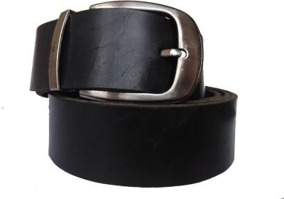 Pranjali Men Casual Black Genuine Leather Reversible Belt