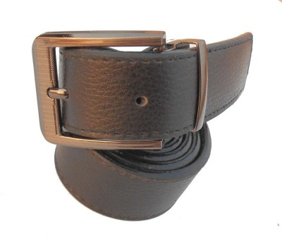 B.S.Chadha Group Men Formal Black Artificial Leather Belt