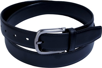 Contra Men Black Artificial Leather Belt