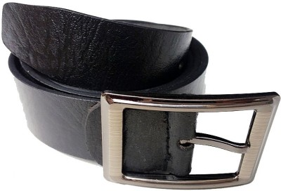 AVS Fashion Boys Casual Black Genuine Leather Reversible Belt