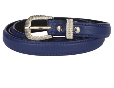 SkyWays Women Casual Blue Artificial Leather Belt