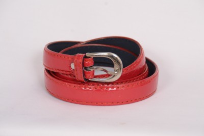 VICTORIA SECRET INDIA Women Casual Red Artificial Leather Belt