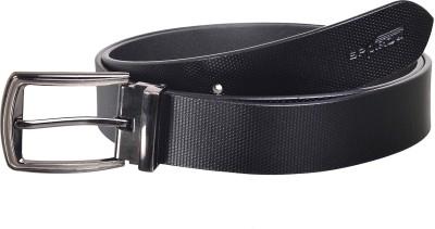 Spairow Men Casual, Formal Black Genuine Leather Belt
