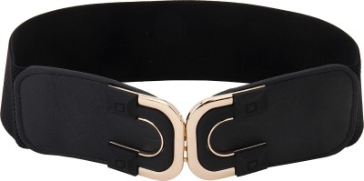 Naitik Products Women Casual Black, Gold Genuine Leather Belt