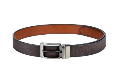 Ligans Ny Men Formal Black Genuine Leather Belt